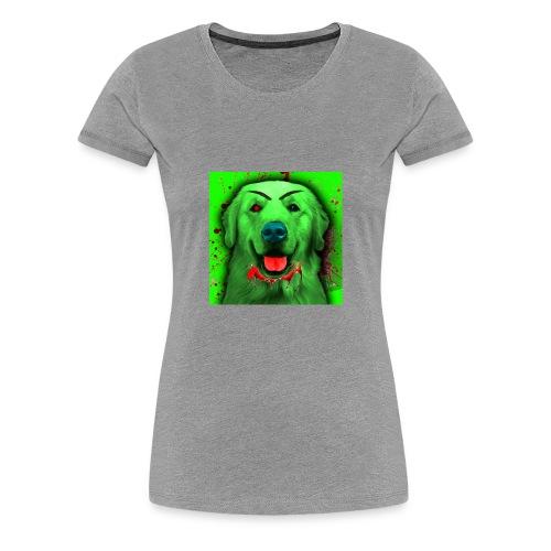 Zombie Dog Hoodie - Women's Premium T-Shirt