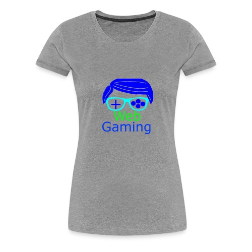 New Web Gaming Channel Logo - Women's Premium T-Shirt