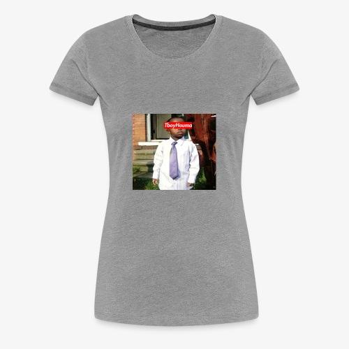 Tboyhouma Baby Pic Tee - Women's Premium T-Shirt