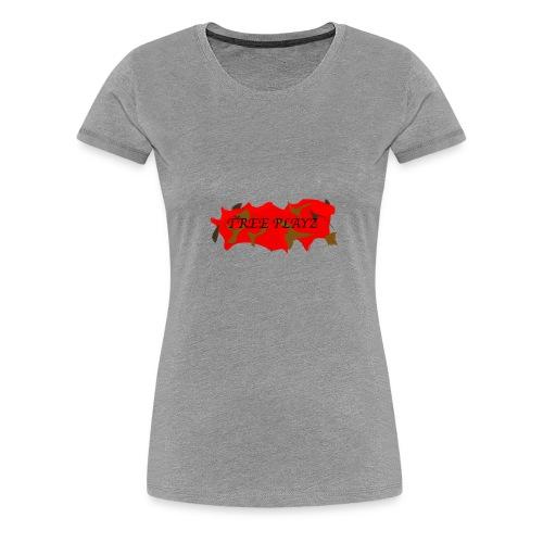 TreePLAYZ (RED EDTION) {NEW} - Women's Premium T-Shirt