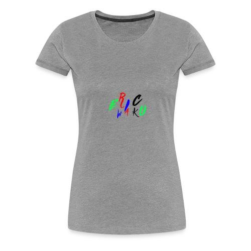 EricWaku015Wow - Women's Premium T-Shirt