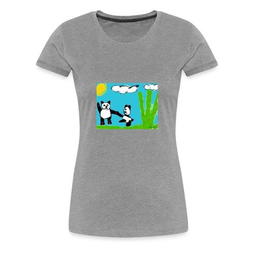 PANDAS - Women's Premium T-Shirt