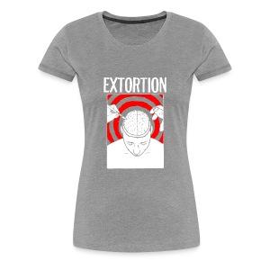 Extortion Brain - Women's Premium T-Shirt