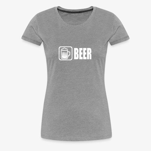 beer funny tshirt - Women's Premium T-Shirt