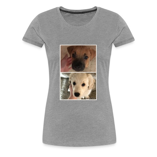 Cute Dog Pic - Women's Premium T-Shirt