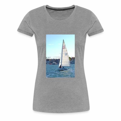 Sea, Sun, and Sails - Women's Premium T-Shirt