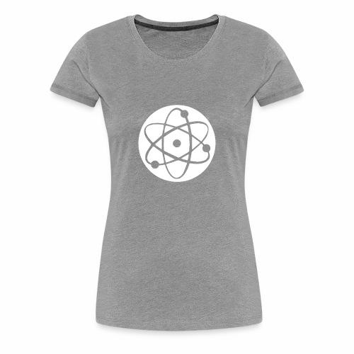Atom Geek funny tshirt - Women's Premium T-Shirt
