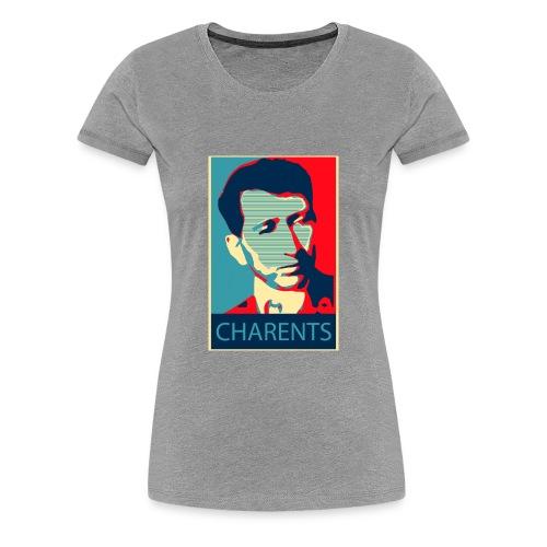 Eghishe Charenc - Women's Premium T-Shirt