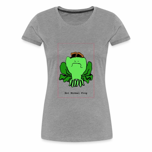not normal frog - Women's Premium T-Shirt
