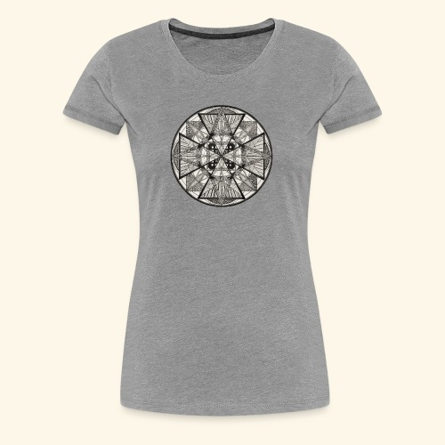 Mandala The Power of potency - Women's Premium T-Shirt