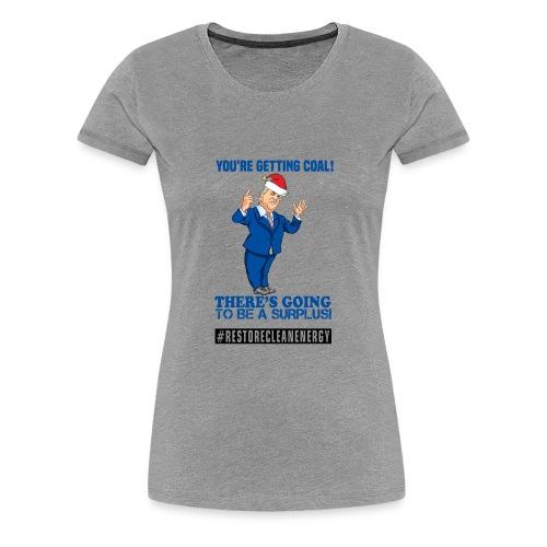Trump Santa Shirt - Women's Premium T-Shirt
