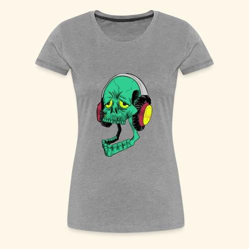 Mr. Green skull - Women's Premium T-Shirt