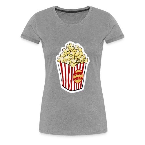 Popcorn Cartoon Pop Corn - Women's Premium T-Shirt