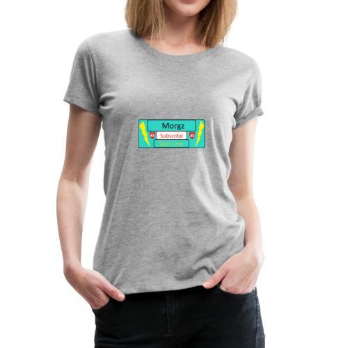 Morgz/Itz Alex Subscribe Logo - Women's Premium T-Shirt