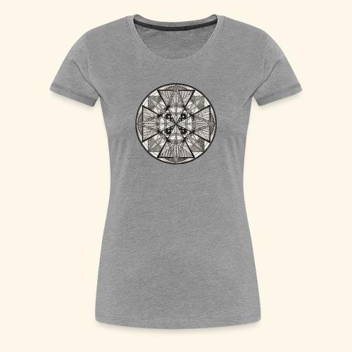 Mandala The Power of potency - Women's Premium T-Shirt