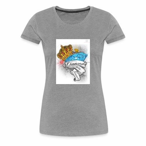 Diamonds Are Forever - Women's Premium T-Shirt