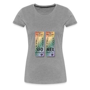 PRIDE SFO MEX - Women's Premium T-Shirt