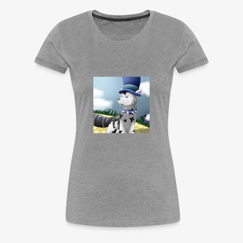 Zero Wolfie_Game - Women's Premium T-Shirt