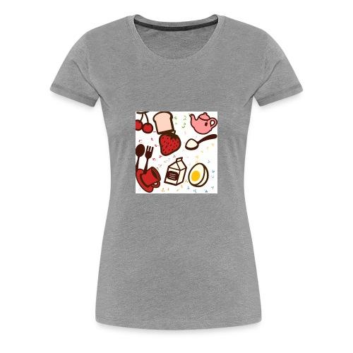 Classy cute brunch design! - Women's Premium T-Shirt