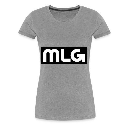 MLG_GOD sweater - Women's Premium T-Shirt