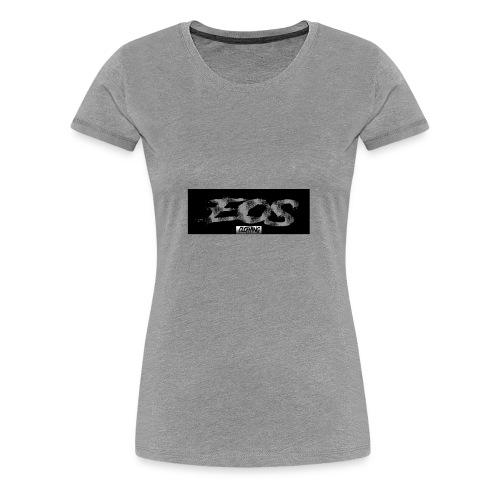 EOS clothing // NEW Brush logo - Women's Premium T-Shirt
