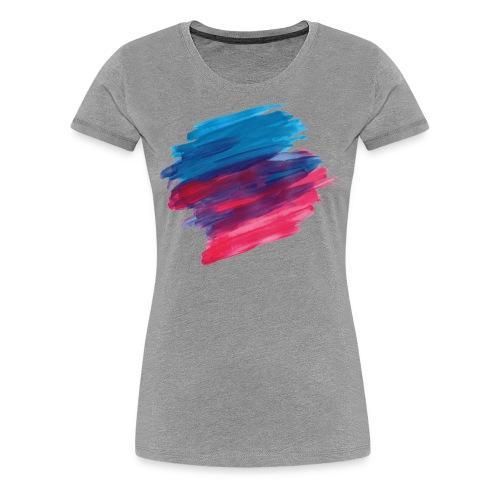 paint brush - Women's Premium T-Shirt
