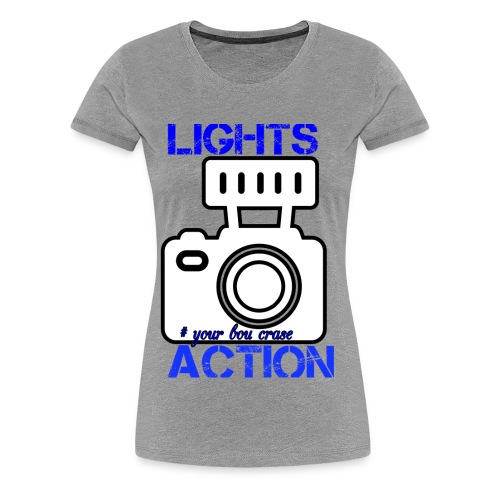 THE LIGHT IS ONE YOU - Women's Premium T-Shirt