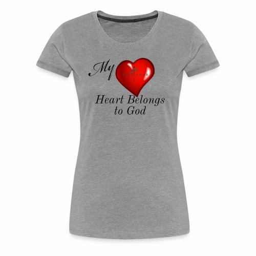 My Heart T Shirt - Women's Premium T-Shirt