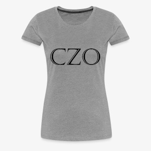 CoverZero CZO StoneScript - Women's Premium T-Shirt