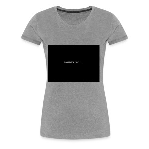 davidwallco. - Women's Premium T-Shirt