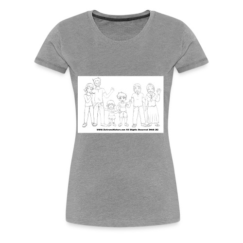 The Extreme Dieters after the Diet - Much Love - Women's Premium T-Shirt