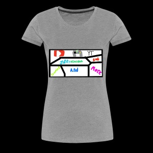 Jiffyvincent Gaming And More - Women's Premium T-Shirt