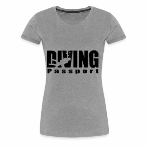 DIVING passport - Women's Premium T-Shirt