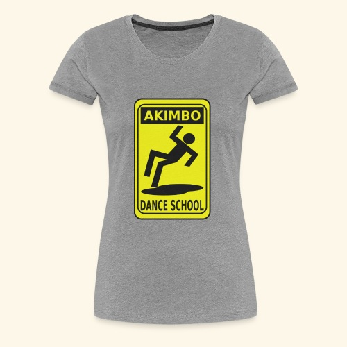 Akimbo Dance School - Women's Premium T-Shirt