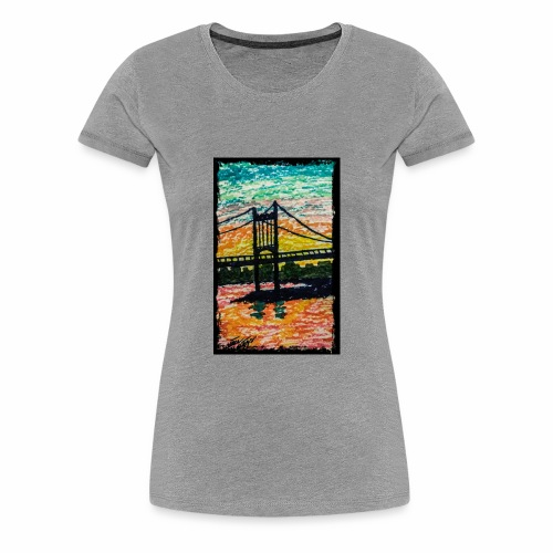 New York Bridge - Women's Premium T-Shirt