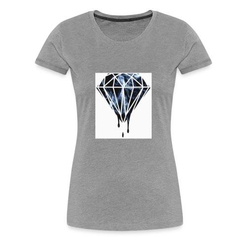 Savage Max101 white long sleve - Women's Premium T-Shirt