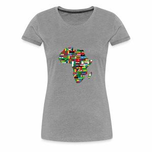 AfricaMap - Women's Premium T-Shirt