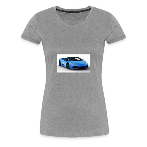 lambo huracan roadster rendering ts 4 - Women's Premium T-Shirt