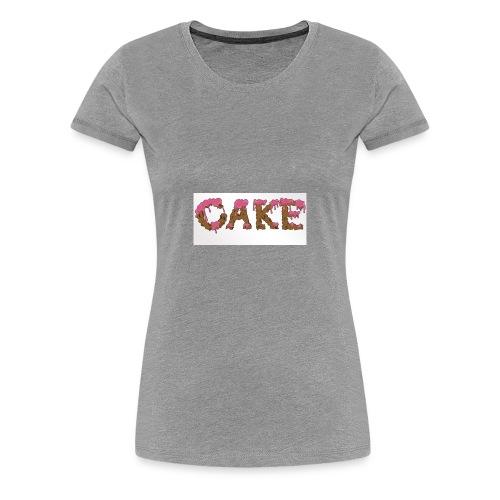 CAKE - Women's Premium T-Shirt