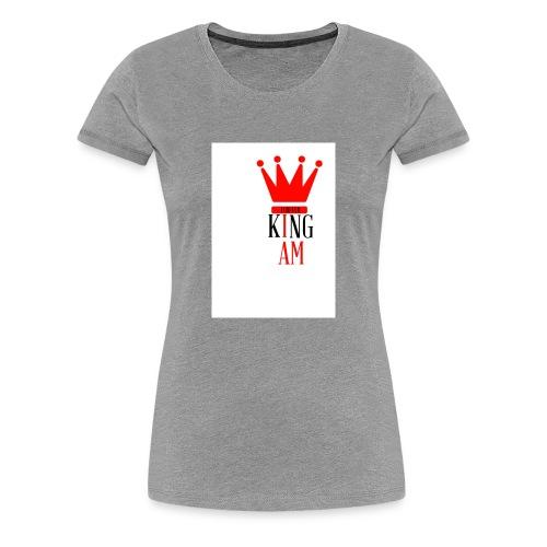 king Iam - Women's Premium T-Shirt