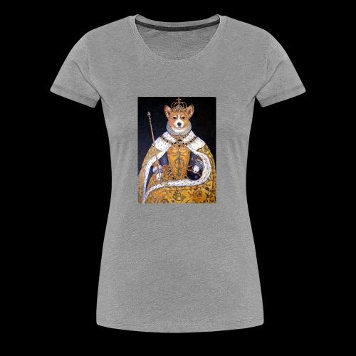 queens of corgi - Women's Premium T-Shirt