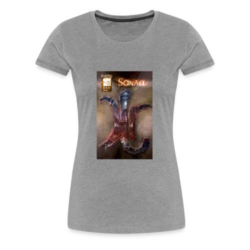 Sanaa Rune Cover - Women's Premium T-Shirt