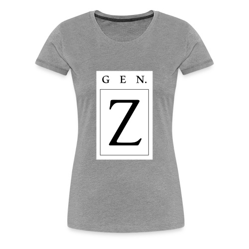 Generation Z - Women's Premium T-Shirt