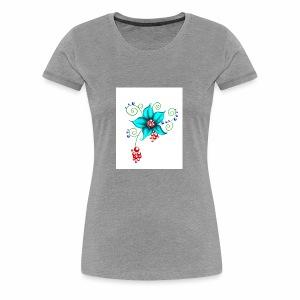 Flowerful Pillow - Women's Premium T-Shirt