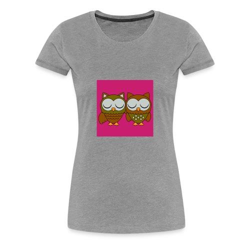 hoot hoot - Women's Premium T-Shirt