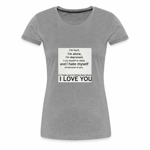 Deep Emotional - Women's Premium T-Shirt
