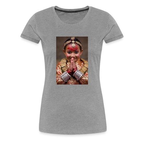 namaste - Women's Premium T-Shirt