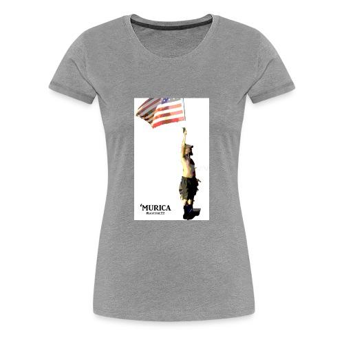 murica - Women's Premium T-Shirt