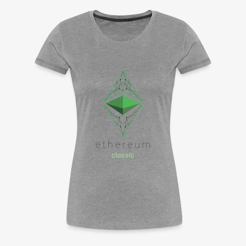 Ethereum Classic Logo - Women's Premium T-Shirt