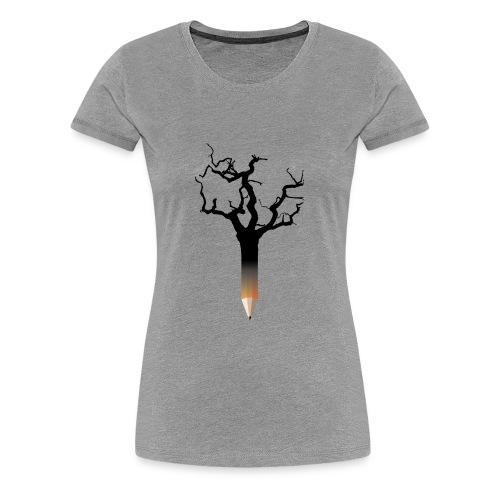 Pencil tree - Women's Premium T-Shirt